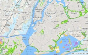 Natural Areas Conservancy, NYC park maps, NYC parkland