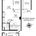 floorplan, loft, 432 Atlantic Avenue