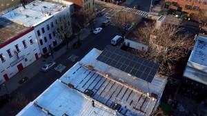Solar canopy by brooklyn solarworks and situ studio