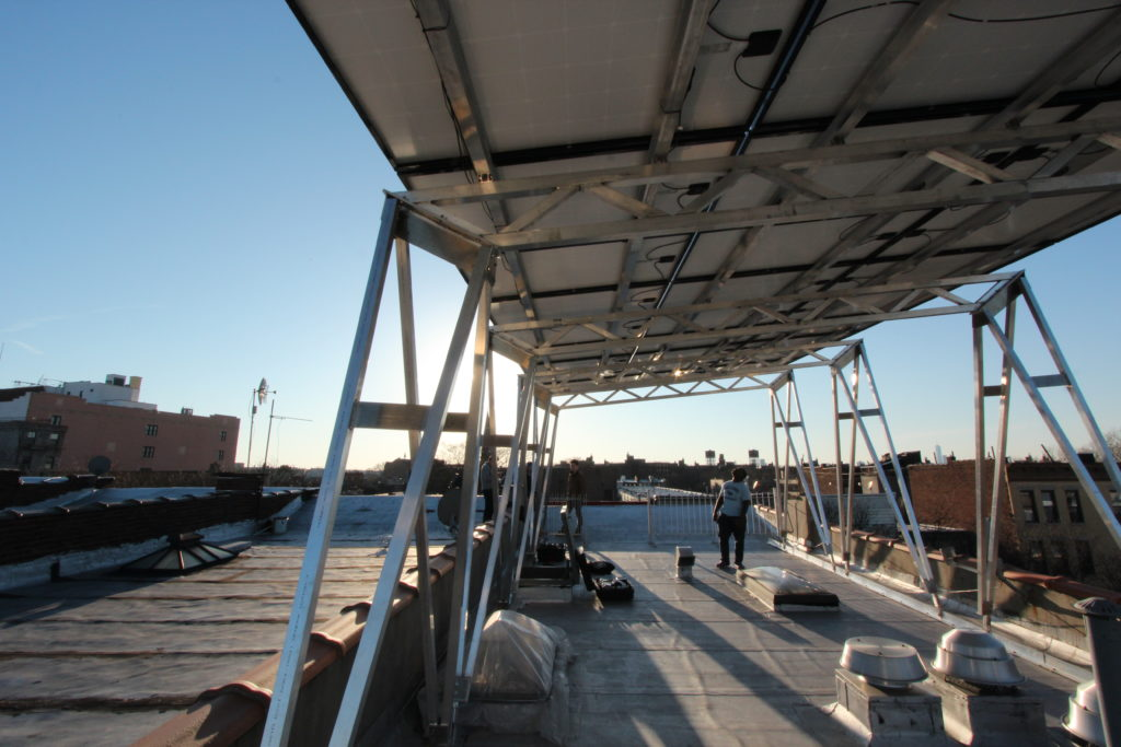 New Solar Canopy Can Be Installed Atop Any Nyc Building