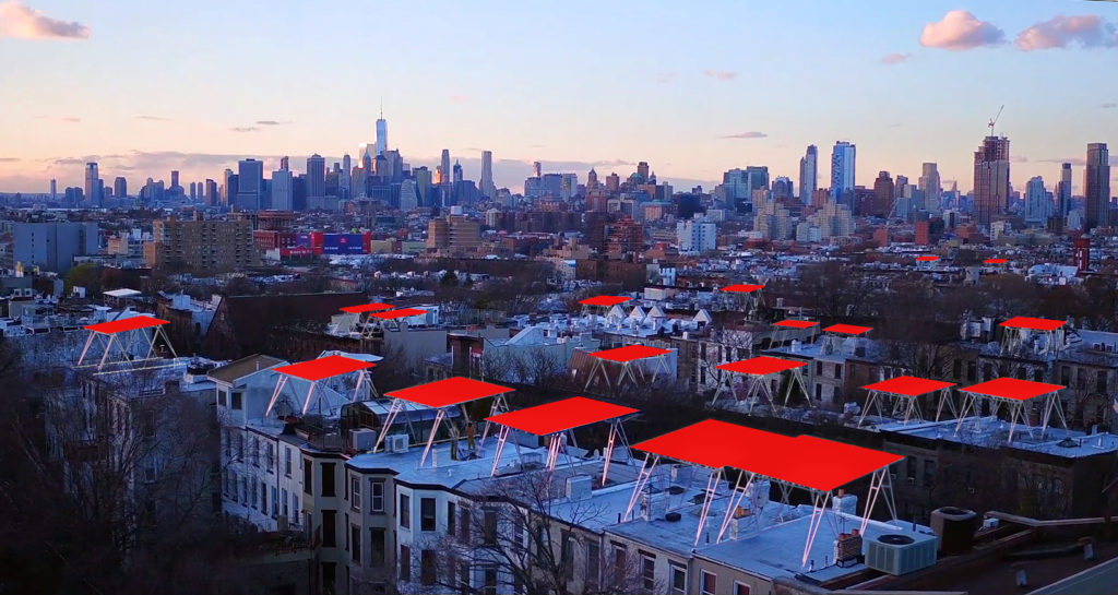 VIEW PHOTO IN GALLERY & New u0027Solar Canopyu0027 Can Be Installed Atop Any NYC Building to ...