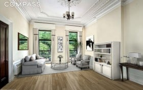 238 East 15th Street, Gramercy, living room