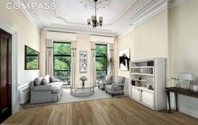 238 East 15th Street, Gramercy, living room