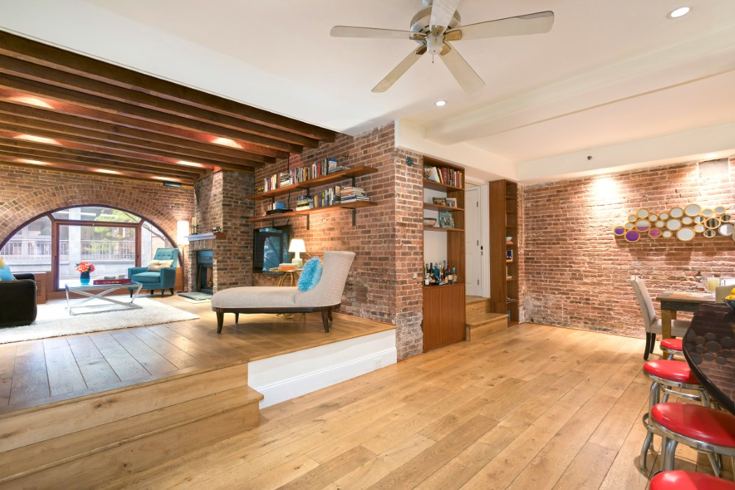 49 Downing Street, horse stable, greenwich village, living room