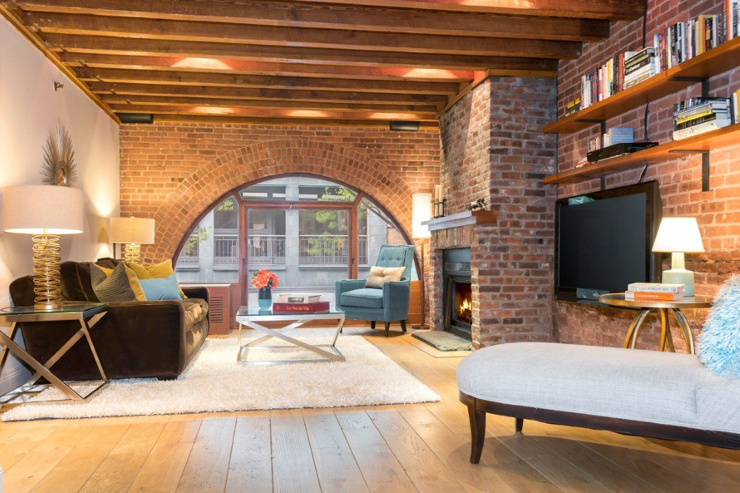 28M Condo At Former Greenwich Village Horse Stable Boasts Great Windows And Exposed Brick