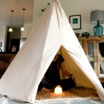 Meditation Tipi, indoor teepee, meditation products, personal meditation rooms, Little Turtle's Tipi