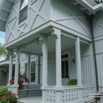 4950 Independence Avenue, facade, architecture