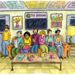 roz chast 'subway sofa' for the new yorker