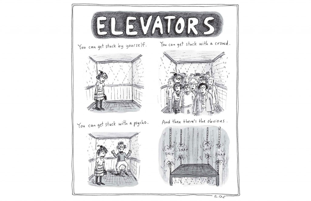 roz chast's elevators