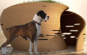 KPF's William Pedersen, William Pedersen designer, designer doghouses, One Jackson Square (OJS) Doghouse,
