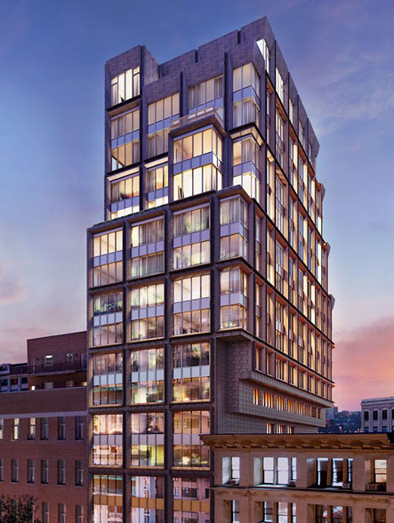 5 Franklin Place, Tribeca condos