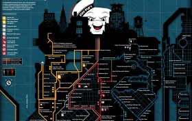 Anthony Petrie, New York City Ghostbusters Service Map, Ghostbusters NYC locations, NYC movie maps