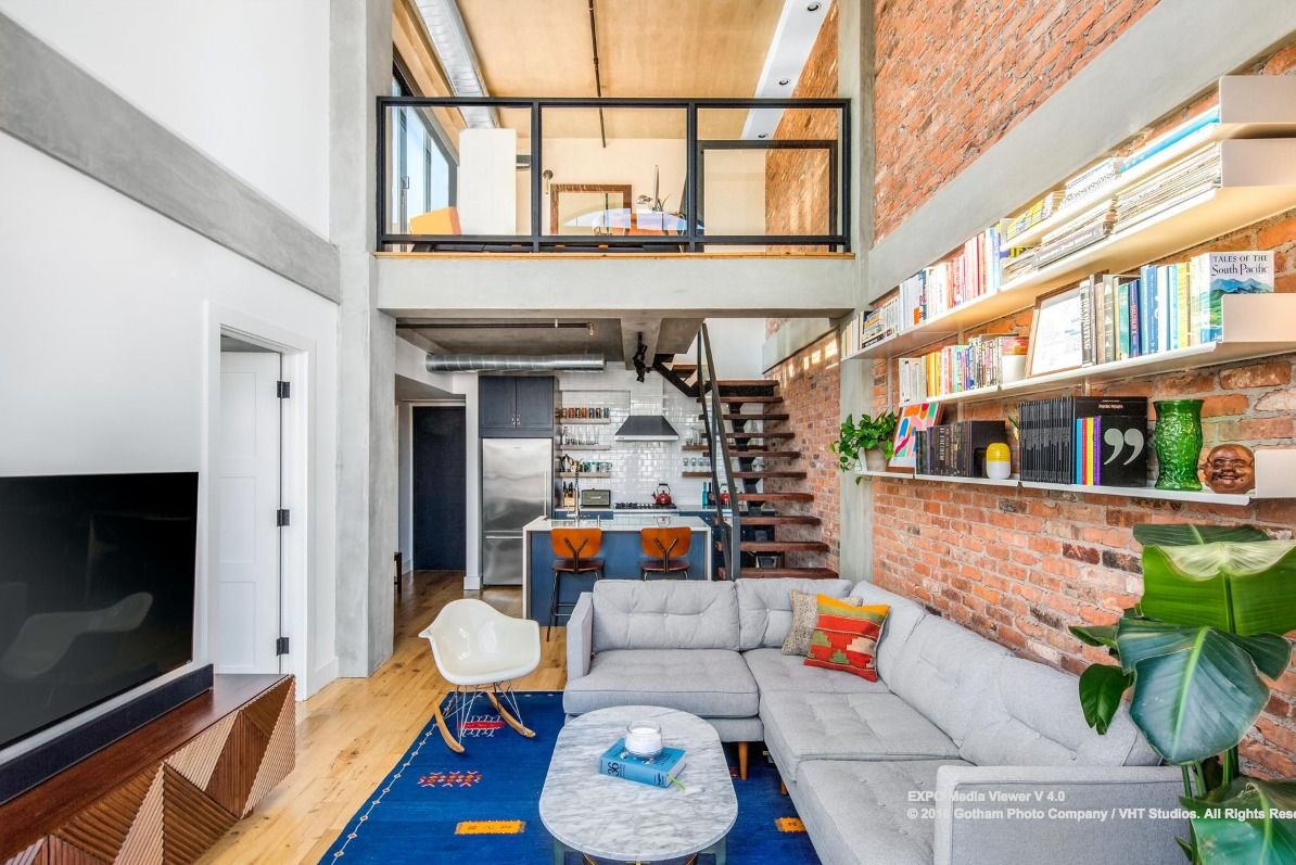 $1 4M Williamsburg 'Penthouse' Has On-Trend Finishes, Two