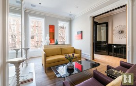 588 Madison Street, bed-stuy, townhouse, living room