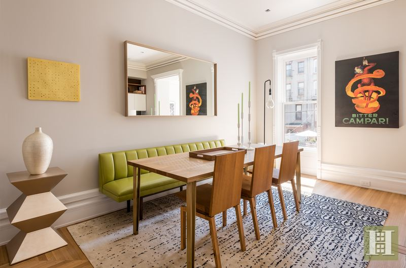 588 Madison Street, bed-stuy, townhouse, dining room