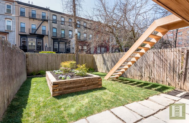 588 Madison Street, bed-stuy, townhouse, garden