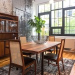 Lewis Steel Building, 76 North 4th Street, dining room, rentals