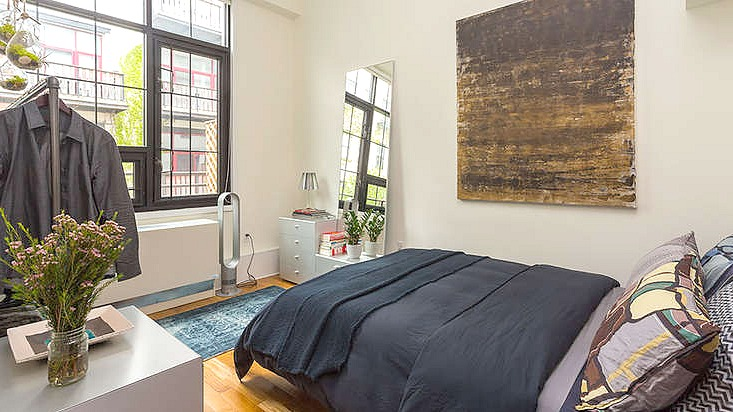 Lewis Steel Building, 76 North 4th Street, rental, bedroom