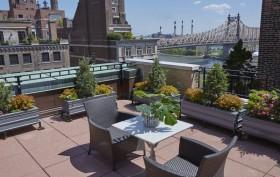 444 East 57th Street Roof Deck Garden