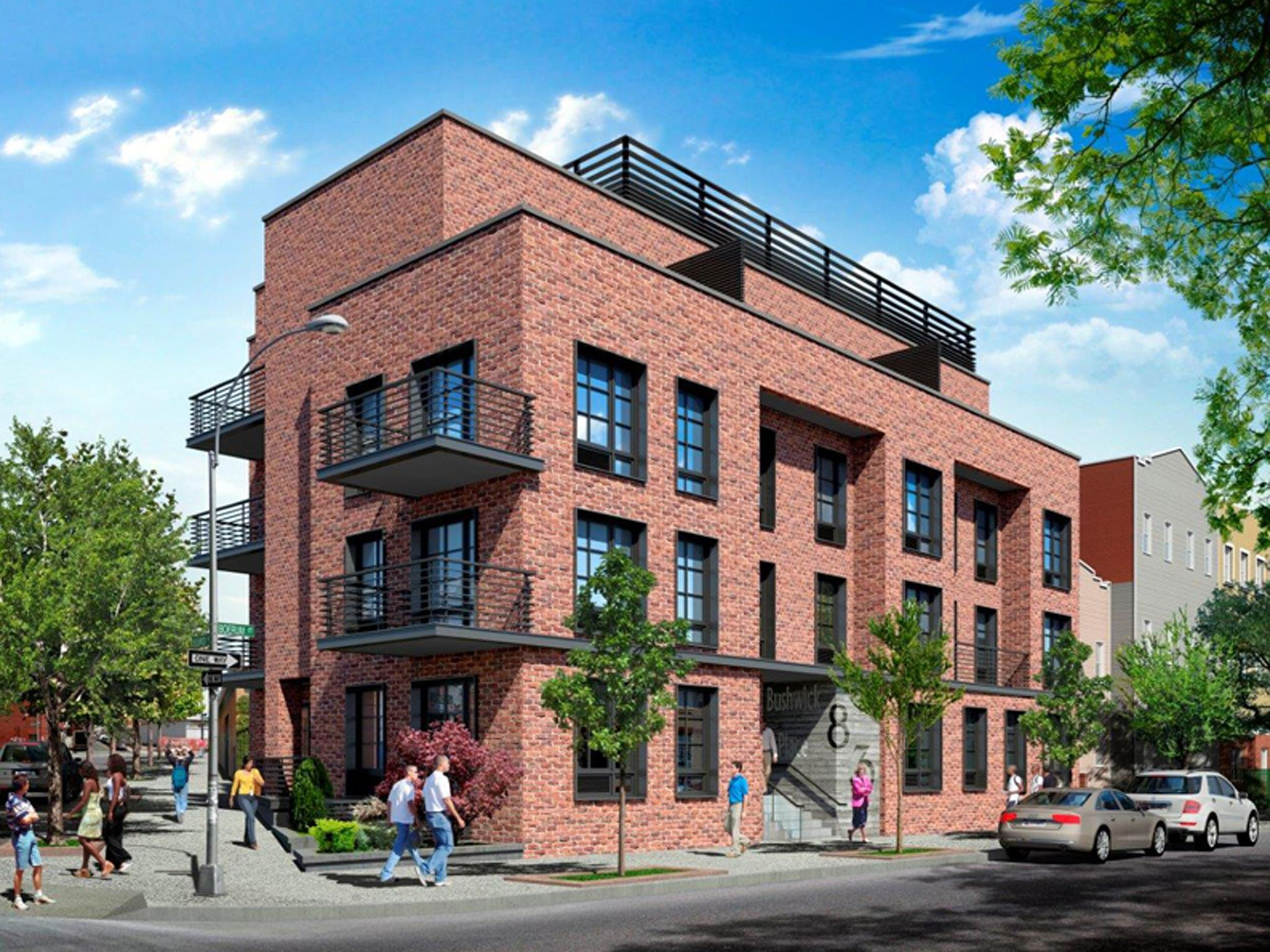 Lotto kicks off for four affordable apartments in bushwick for Affordable building
