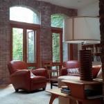 240 West 21st Street Living Room Skylight