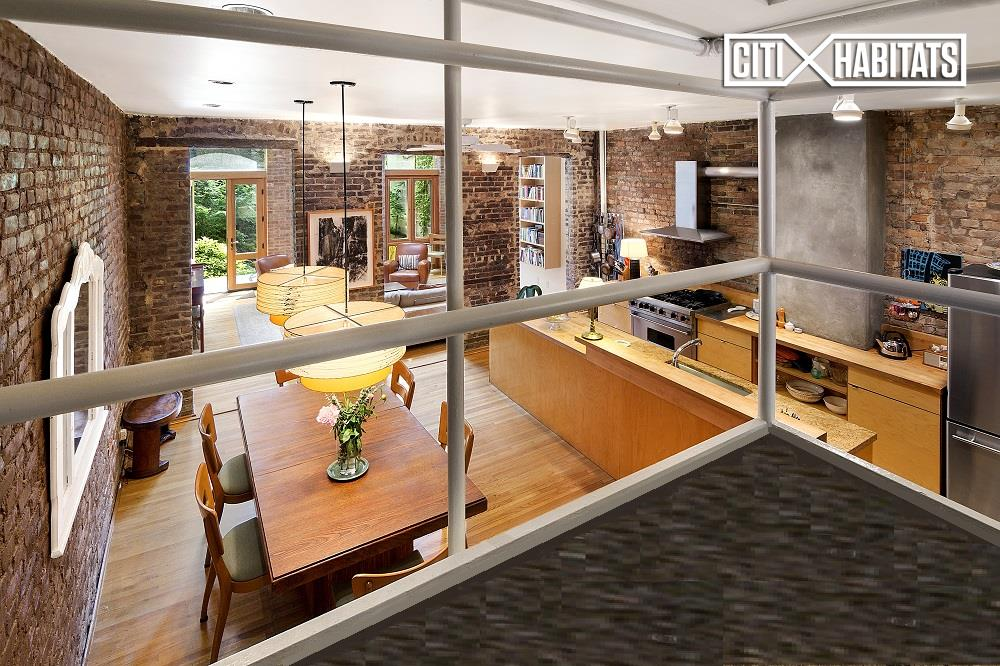 240 West 21st Street Kitchen Living