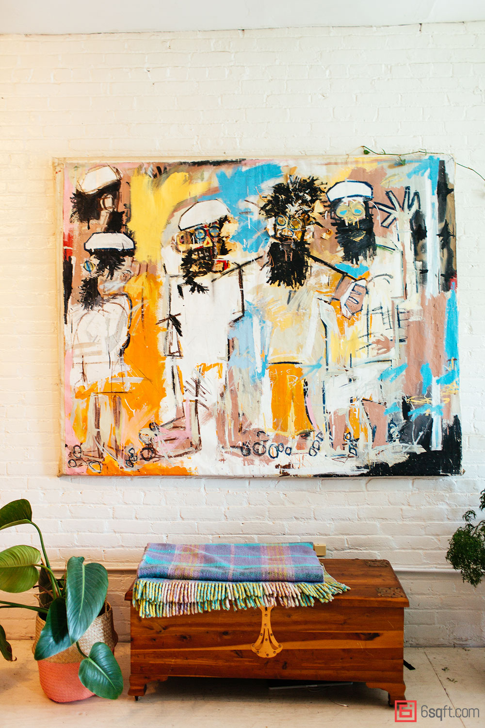 my 1200sqft: inside summer rayne oakes' williamsburg oasis filled