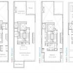 16 Warren Street PH floorplan compass