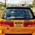 NYC taxi Airbnb, yellow cab, Long Island City, strange Airbnb listings