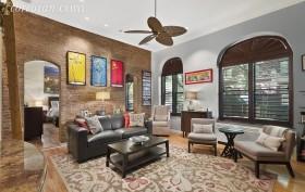 61 West 68th Street, Upper West Side, living room, co-op, parlor floor