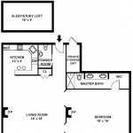 61 West 68th Street, Upper West Side, floorplan, co-op, parlor floor