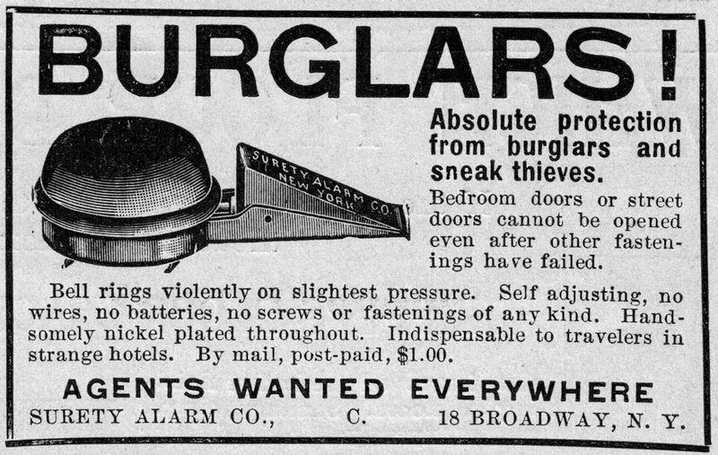 1900s burglar alarm