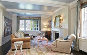 333 East 68th Street, co-op, upper east side, living room