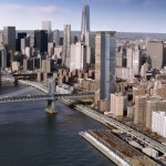 One Manhattan Square, Extell Development, Two Bridges tower, Adamson Associates Architects