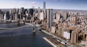 One Manhattan Square, Extell Development, Two Bridges tower, Adamson Associates Architects