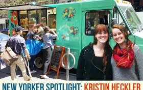 Uprooted Flower Truck, Kristin Heckler, Ashley Custer, mobile florist, NYC mobile businesses