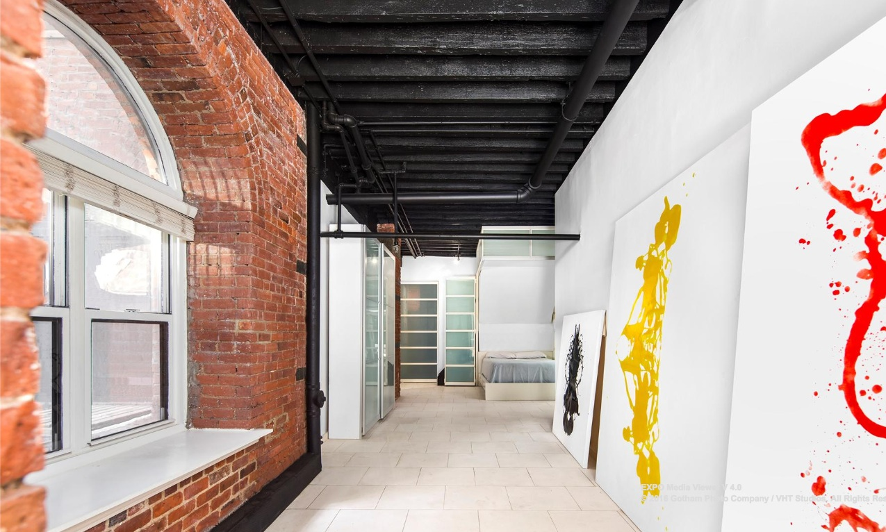 324 Pearl Street, Financial District, loft, rental, artwork