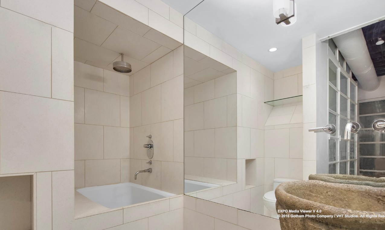 324 Pearl Street, Financial District, loft, rental, bathroom