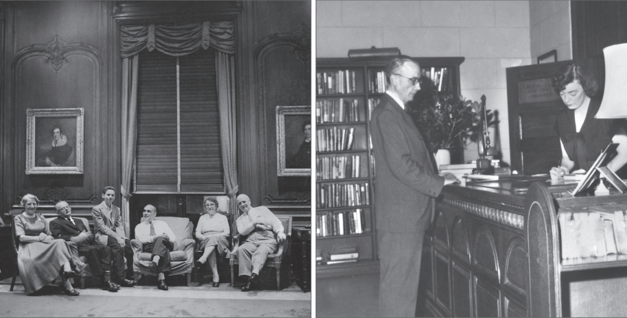 Rose Terence and Patrick Thornberry new york society library