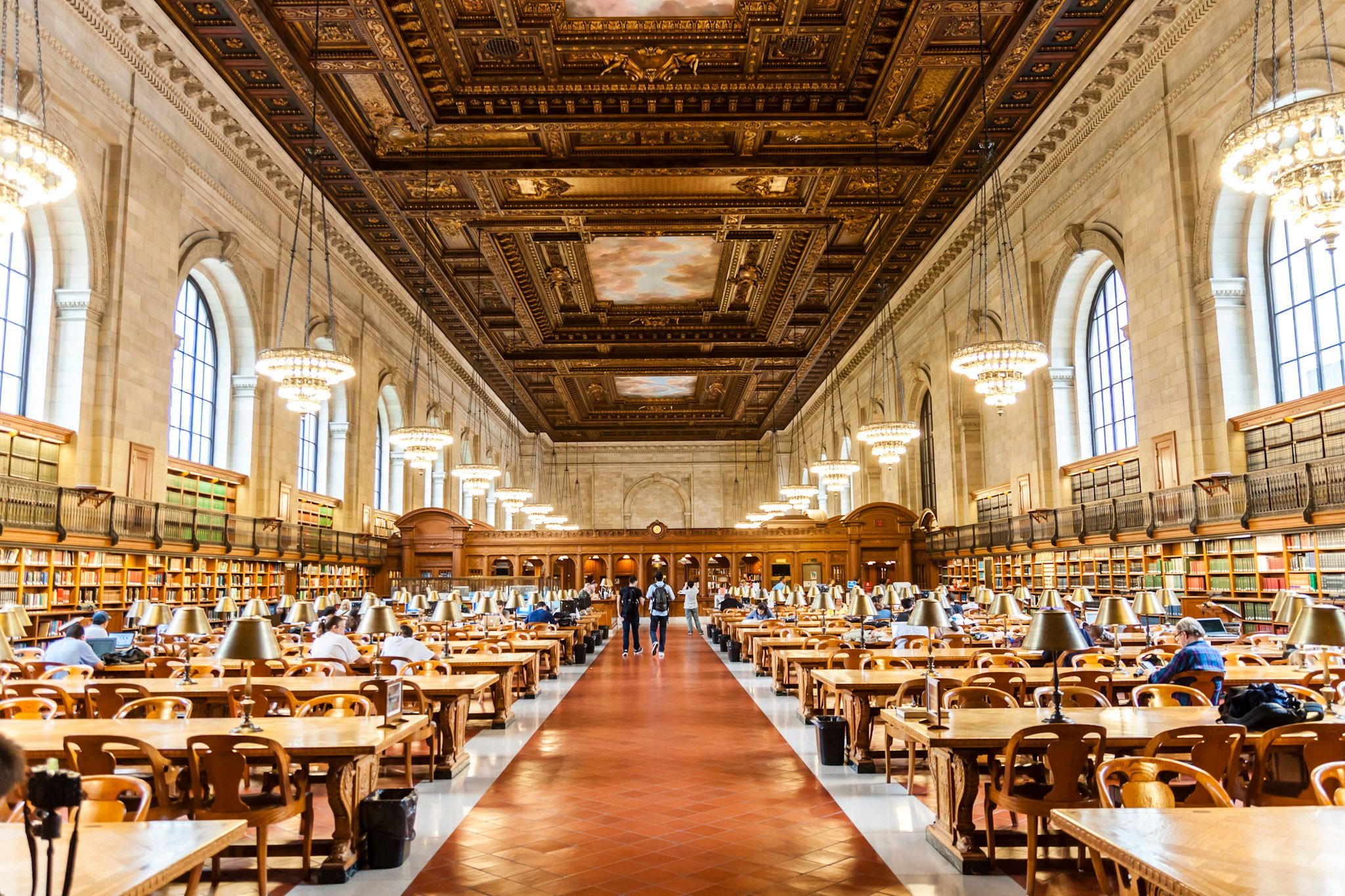rose reading room NY public library