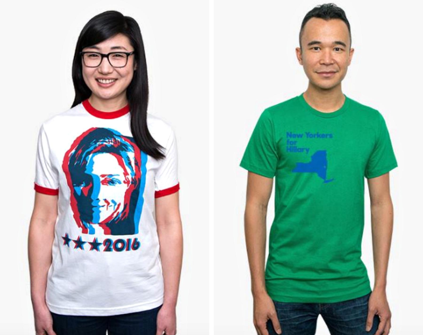 Hillary Clinton-merchandise-tees