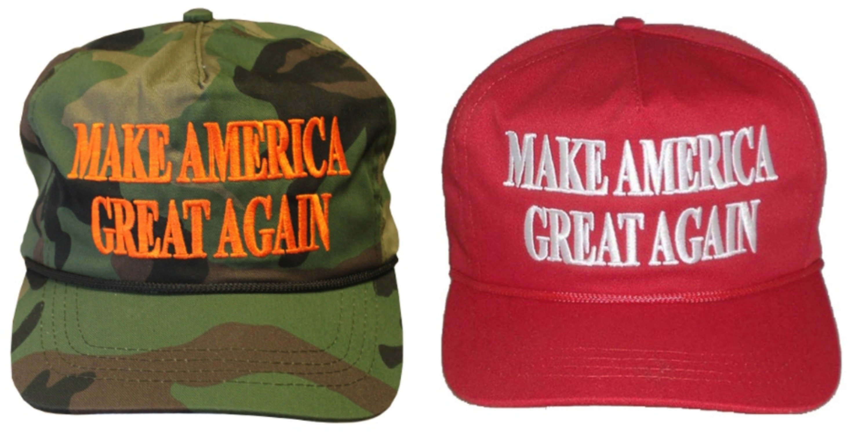 Trumpu2019s accessories begin and end with the hats, which range from $ ...
