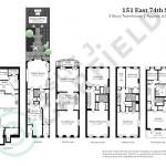151 East 74th Street Floorplan