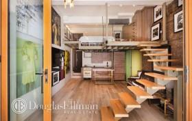 35 East 10th Street, loft, greenwich village, living room
