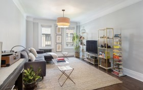 250 West 75th Street, living room, co-op, upper west side