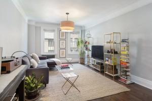 250 West 75th Street, living room, co-op, upper west side