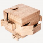 Sigurd Larsen, wooden cube, minimal furniture, furniture for valuables, The Shrine