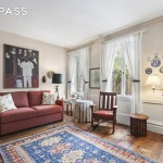 232 west 10th street, townhouse, west village, living room