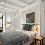 232 west 10th street, townhouse, west village, bedroom