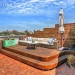 486 Third Street Roof Deck Furniture